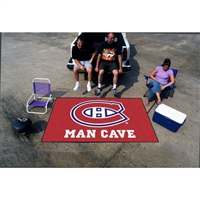 Montreal Canadiens NHL Man Cave Ulti-Mat Floor Mat (60in x 96in)