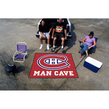 Montreal Canadiens NHL Man Cave Tailgater Floor Mat (60in x 72in)