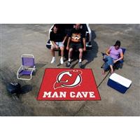 New Jersey Devils NHL Man Cave Tailgater Floor Mat (60in x 72in)