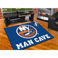 New York Islanders NHL Man Cave All-Star Floor Mat (34in x 45in)