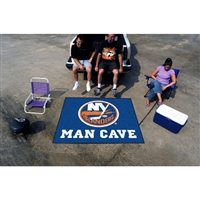 New York Islanders NHL Man Cave Tailgater Floor Mat (60in x 72in)
