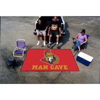 Ottawa Senators NHL Man Cave Ulti-Mat Floor Mat (60in x 96in)