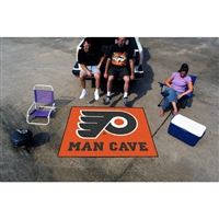 Philadelphia Flyers NHL Man Cave Tailgater Floor Mat (60in x 72in)