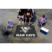Pittsburgh Penguins NHL Man Cave Tailgater Floor Mat (60in x 72in)