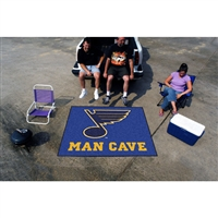 St. Louis Blues NHL Man Cave Tailgater Floor Mat (60in x 72in)
