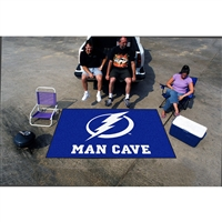 Tampa Bay Lightning NHL Man Cave Ulti-Mat Floor Mat (60in x 96in)