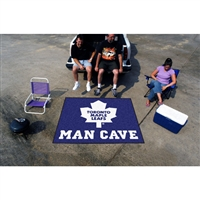 Toronto Maple Leafs NHL Man Cave Tailgater Floor Mat (60in x 72in)