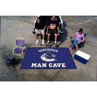 Vancouver Canucks NHL Man Cave Ulti-Mat Floor Mat (60in x 96in)