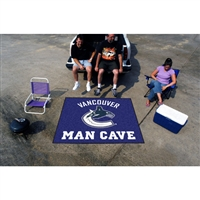 Vancouver Canucks NHL Man Cave Tailgater Floor Mat (60in x 72in)