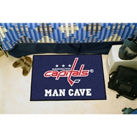 Washington Capitals NHL Man Cave Starter Floor Mat (20in x 30in)
