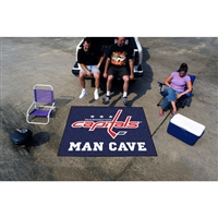 Washington Capitals NHL Man Cave Tailgater Floor Mat (60in x 72in)