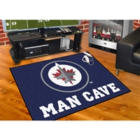 Winnipeg Jets NHL Man Cave All-Star Floor Mat (34in x 45in)