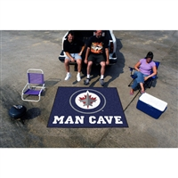 Winnipeg Jets NHL Man Cave Tailgater Floor Mat (60in x 72in)