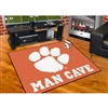 Clemson Tigers NCAA Man Cave All-Star Floor Mat (34in x 45in)