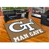 Georgia Tech Yellowjackets NCAA Man Cave All-Star Floor Mat (34in x 45in)