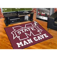 Mississippi State Bulldogs NCAA Man Cave All-Star Floor Mat (34in x 45in)