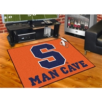 Syracuse Orangemen NCAA Man Cave All-Star Floor Mat (34in x 45in)