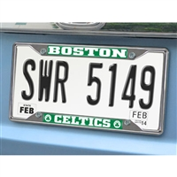 Boston Celtics NBA Chrome License Plate Frame