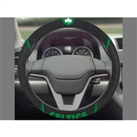 Boston Celtics NBA Polyester Steering Wheel Cover