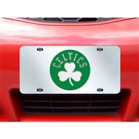 Boston Celtics NBA License Plate Inlaid