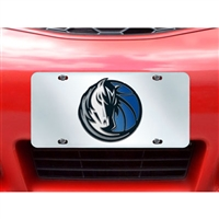 Dallas Mavericks NBA License Plate Inlaid