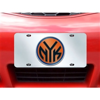 New York Knicks NBA License Plate Inlaid