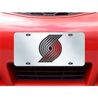 Portland Trail Blazers NBA License Plate Inlaid