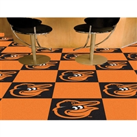 Baltimore Orioles MLB Team Logo Carpet Tiles
