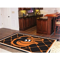 Baltimore Orioles MLB Floor Rug (5x8')