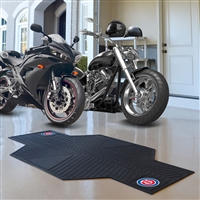 Chicago Cubs MLB Motorcycle Mat (82.5in L x 42in W)