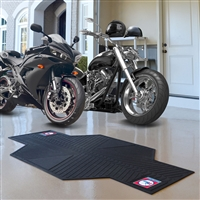 Philadelphia 76ers NBA Motorcycle Mat (82.5in L x 42in W)