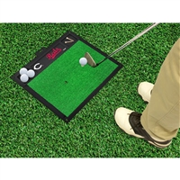 Cincinnati Reds MLB Golf Hitting Mat (20in L x 17in W)