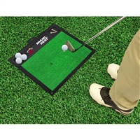 Miami Heat NBA Golf Hitting Mat (20in L x 17in W)