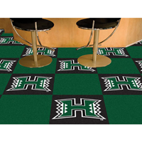 Hawaii Rainbow Warriors NCAA Team Logo Carpet Tiles