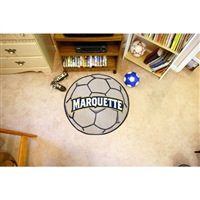 Marquette Golden Eagles NCAA Soccer Ball Round Floor Mat (29)