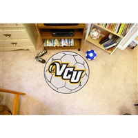 Virginia Commonwealth Rams NCAA Soccer Ball Round Floor Mat (29)