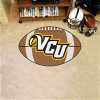 Virginia Commonwealth Rams NCAA Football Floor Mat (22x35)