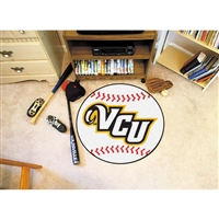 Virginia Commonwealth Rams NCAA Baseball Round Floor Mat (29)