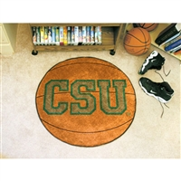 Colorado State Rams NCAA Basketball Round Floor Mat (29)