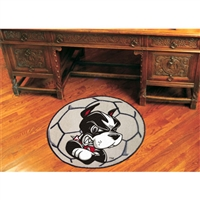 Boston Terriers NCAA Soccer Ball Round Floor Mat (29)