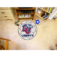 Liberty Flames NCAA Soccer Ball Round Floor Mat (29)