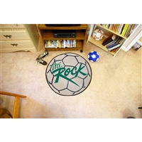 Slippery Rock NCAA Soccer Ball Round Floor Mat (29)