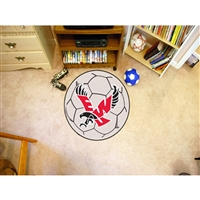 Eastern Washington Eagles NCAA Soccer Ball Round Floor Mat (29)