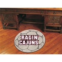 Louisiana Lafayette Ragin Cajuns NCAA Soccer Ball Round Floor Mat (29)