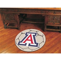 Arizona Wildcats NCAA Soccer Ball Round Floor Mat (29)
