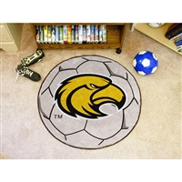 Southern Mississippi Golden Eagles NCAA Soccer Ball Round Floor Mat (29)
