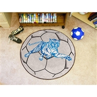Jackson State Tigers NCAA Soccer Ball Round Floor Mat (29)