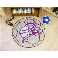Holy Cross Crusaders NCAA Soccer Ball Round Floor Mat (29)