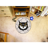 Kennesaw State Owls NCAA Soccer Ball Round Floor Mat (29)