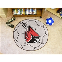 Ball State Cardinals NCAA Soccer Ball Round Floor Mat (29)
